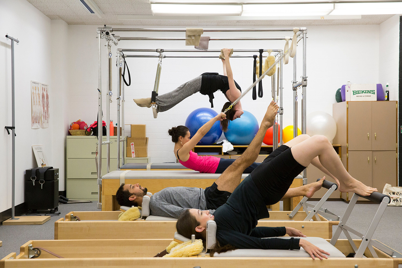 Pilates Studio/Site Specific Dance with Stephan Koplowitz