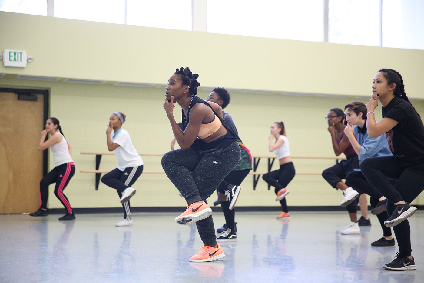 Dance Studio / Contemporary Dance Class
